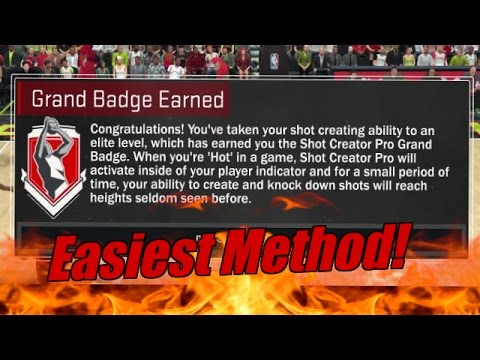 How to Unlock Shot Creator Grand Badge! Easiest Method! (PS4, Xbox One)