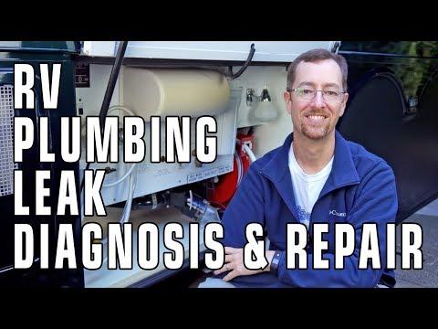 RV Plumbing Leak Diagnosis & Repair - Practically For Free!