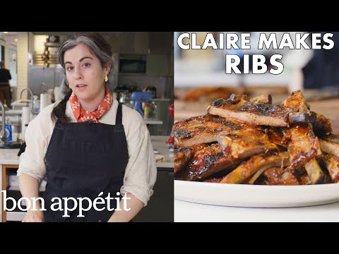 Claire Makes Best-Ever Barbecued Ribs | From the Test Kitchen | Bon Appétit