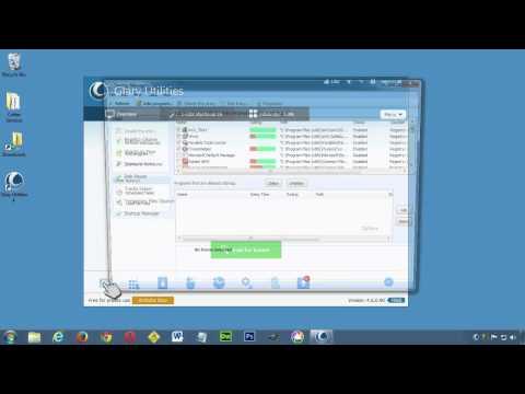Using Glary Utilities' Startup Manger