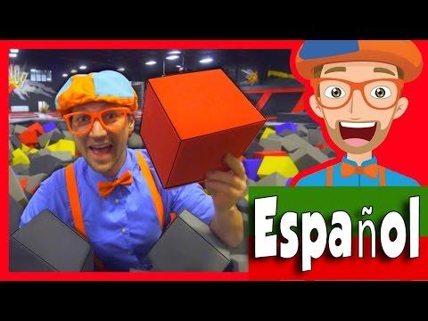 Xxx Mp4 El Parque De Trampolines Con Blippi Español Aprende Los Colores 3gp Sex