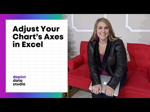 How to Adjust the Units in Your Excel Chart's Axes