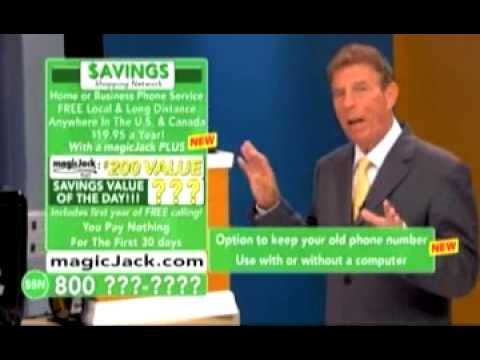 magicJack Plus™ - Free Local and Long Distance Calling - As Seen On TV.flv