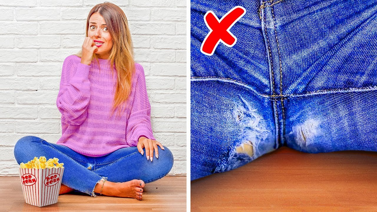 100 CLOTHING HACKS LIVE    Get Thrifty With Us