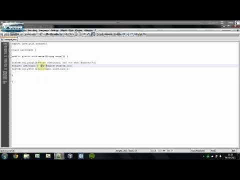 Understanding Java   User Input   Tutorial #5
