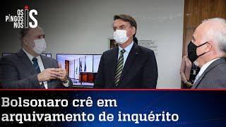 Bolsonaro e Aras se encontram na PGR