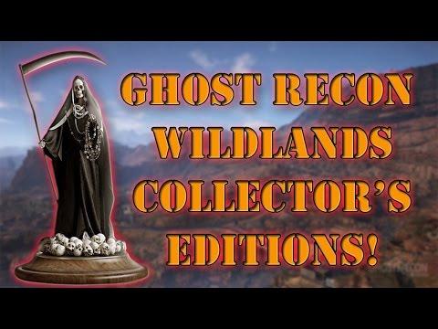 Ghost Recon Wildlands Collector's Editions!