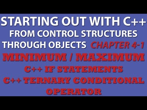 C++ Programming Challenge 4-1: Minimum/Maximum (Starting Out With C++ Conditional Statements)