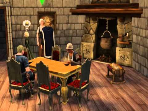 The Sims Medieval   Family's life