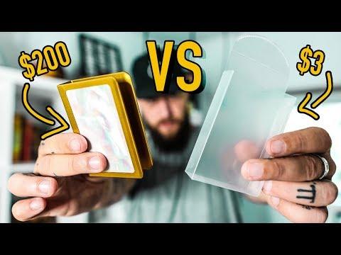 $3 Card Guard vs $200 Card Guard!!