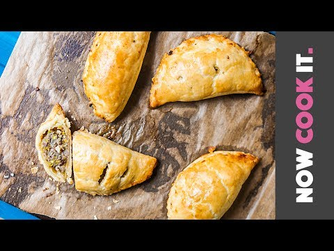 Hot Sausage Pastry Pockets Recipe