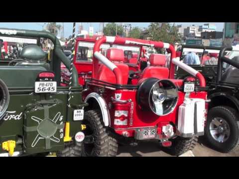 Jeeps in Moga Mandi