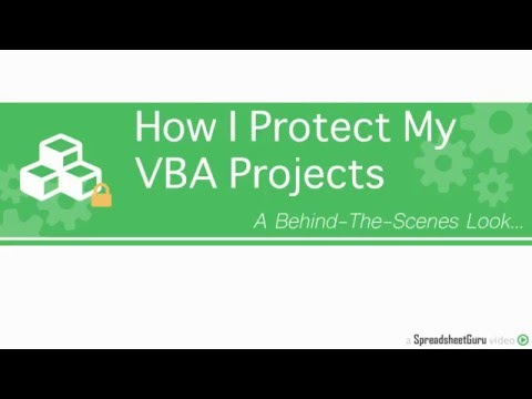 How I Protect My VBA Coded Products For Microsoft Excel & PowerPoint