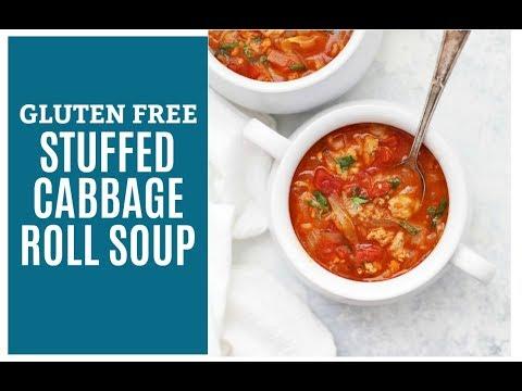 Stuffed Cabbage Roll Soup (Gluten Free, Paleo Friendly)