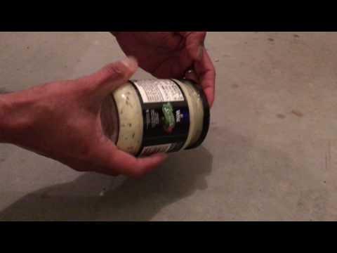 How to open stuck jar lid easily