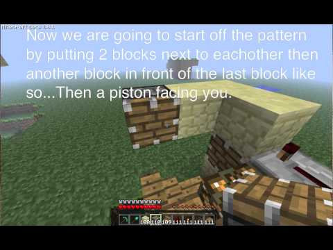 Minecraft Tutorial: how to make Etho's version of the piston elevator