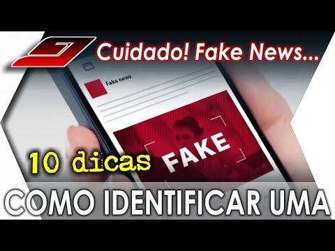 10 Dicas de como identificar Fake News | Guajenet