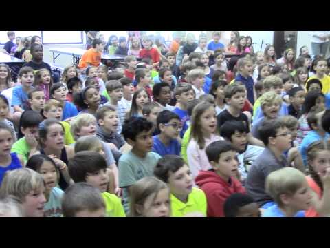 Greystone Students Surprise Roger Day