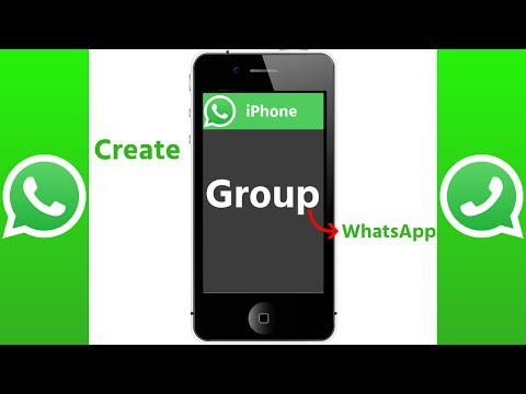 How To Create WhatsApp Group in iPhone 2017