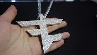 FAZE LOGO MADE OUT OF DIAMONDS!!