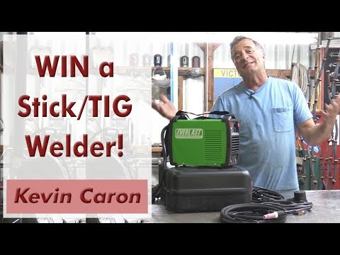 Win a Stick / TIG Welder in This Crazy Contest! - Kevin Caron