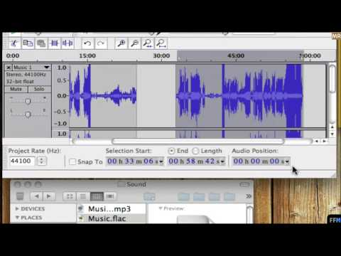 Split MP3 & AAC to Playable files Free (Mac)-MR