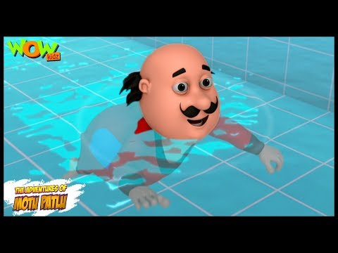 Swimming Pool - Motu Patlu in Hindi - ENGLISH, SPANISH & FRENCH SUBTITLES! - 3D Animation Cartoon