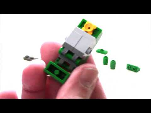 TUTORIAL - Lego Transformers MINICON  / MINI SPY Tank by BWTMT Brickworks