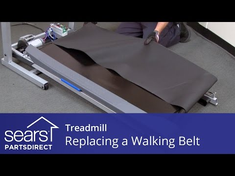 How to Replace a Treadmill Walking Belt