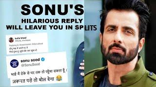 Sonu Sood's Top 10 Tweets Will Make You Feel Proud On Him || Sonu Sood funny tweets ||