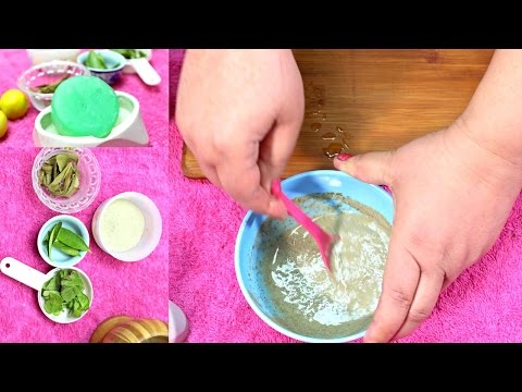 How To Get Rid Of Acne & Pimples With Homemade Herbal Soap