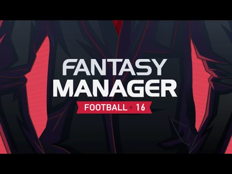FANTASY MANAGER FOOTBALL 2016 - Gameplay Trailer - iOS / Android