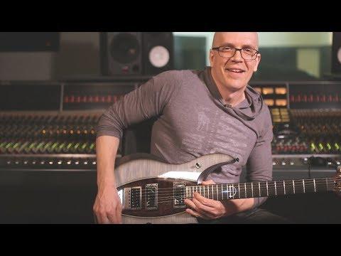 Devin Townsend Plays Guitar through Waves Delay & Reverb