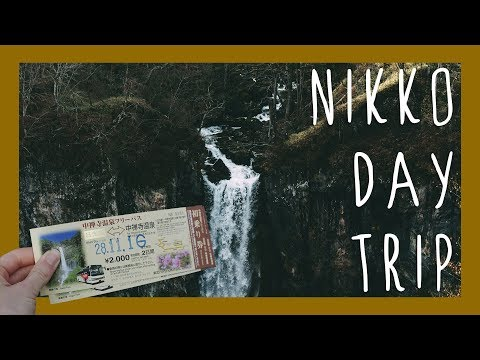 Nikko - A Day Trip from Tokyo