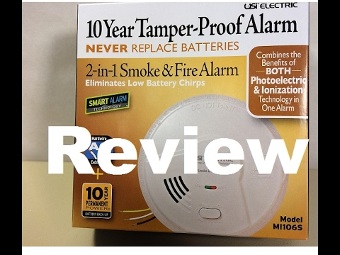 Smoke Detector Review of the Photoelectric - Ionization MI106S