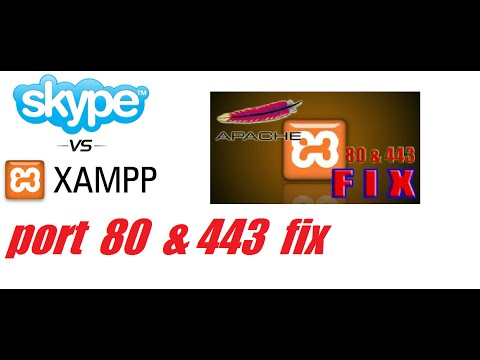 XAMPP Apache Port Problem Solve 80 or 443 [FIX 2017] HINDI-URDU