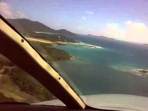 Rare LH base Approach into Beef Island Tortola.mp4