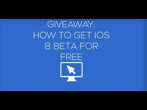 How To Get iOS 8 Beta For Free (UDID Registration Giveaway)