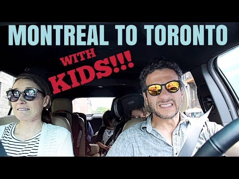 PARENTHOOD & THE DRIVE FROM MONTREAL TO TORONTO ON THE 401 [travel vlog]