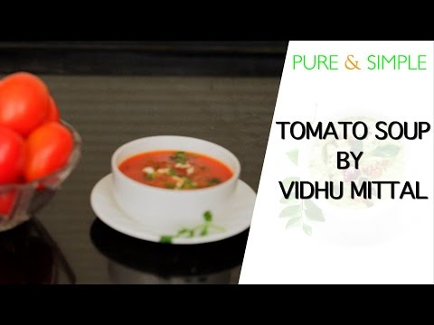 Learn the easiest way to make the classic tomato soup!