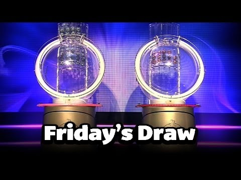 The National Lottery 'Thunderball' draw results from Friday 27th December 2013