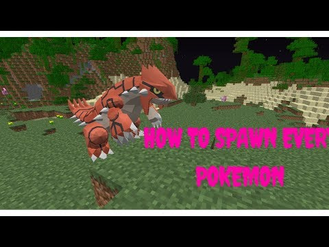 HOW TO SPAWN EVERY POKEMON IN PIXELMON!!! - Pixelmon Tutorials