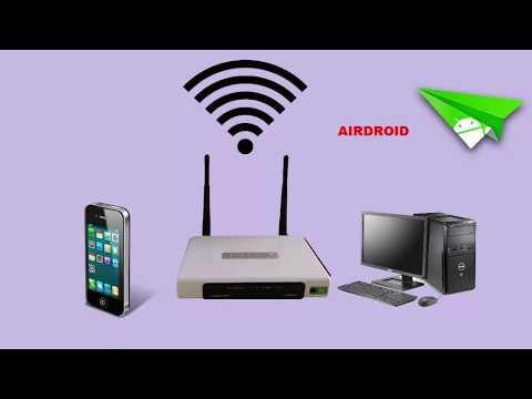 How To Transfer Files Between Mobile & Computer Wirelessly In Urdu