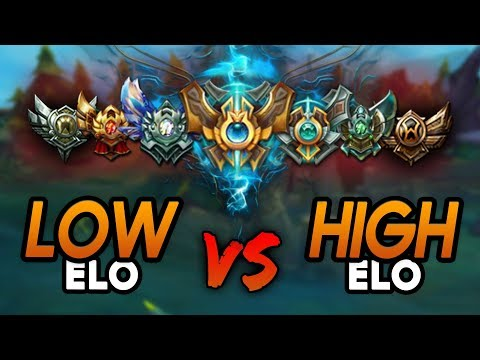 Real Difference between LOW and HIGH ELO (League of Legends)
