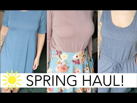 SPRING WARDROBE CLOTHING HAUL & TRY ON