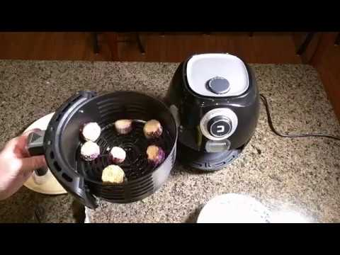 Full review and test of Chefman Air Fryer with Space Saving Flat Basket