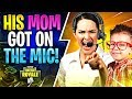 Download HIS MOM GOT ON THE MIC! (Fortnite Battle Royale) In Mp4 3Gp Full HD Video