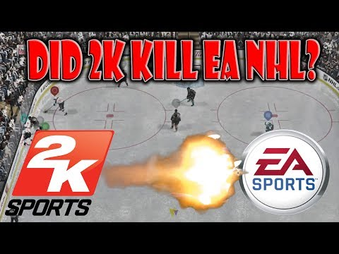 Is 2K Killing The EA NHL Series?  NHL 2K Revive? #25DaysOfRANTMas