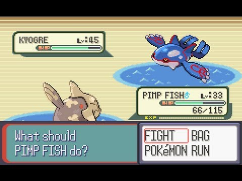 Pokemon Sapphire Part 31: Catching Kyogre