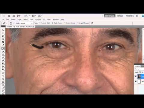 How to Remove Wrinkles in Photoshop CS5